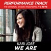 Stream & download We Are (Performance Tracks) - EP