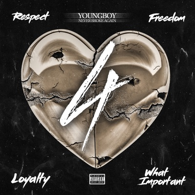 4Respect 4Freedom 4Loyalty 4WhatImportant by YoungBoy Never Broke Again album reviews, ratings, credits