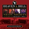 Neon Nights: Live In Europe by Heaven & Hell album reviews