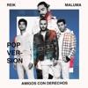 Stream & download Amigos Con Derechos (Versión Pop) - Single