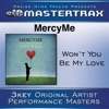 Stream & download Won't You Be My Love (Performance Tracks) - EP
