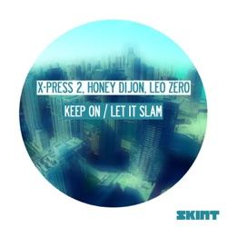 Listen Keep On / Let It Slam - Single album