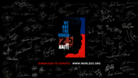 watch We Are the World 25 for Haiti music video