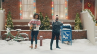 watch Take Me Home For Christmas music video